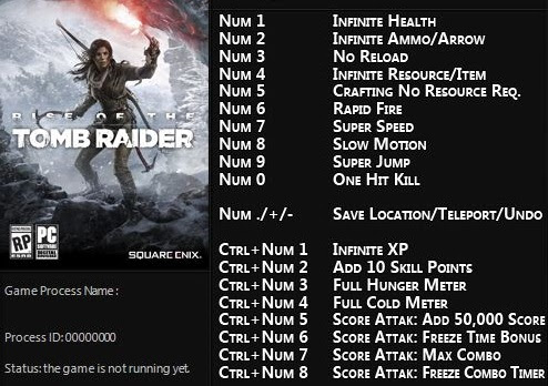 Rise of the tomb raider trainer rise of the tomb raider trainer.