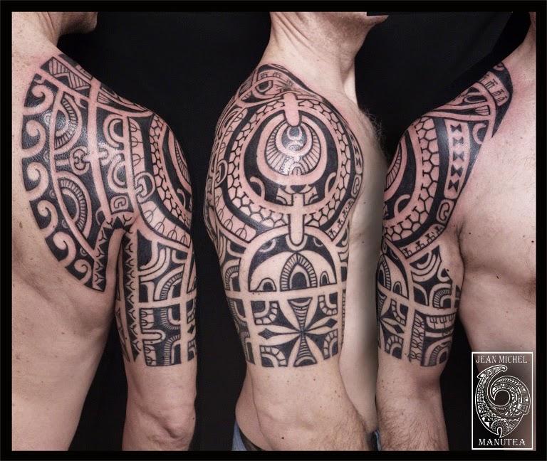 tatouage polynesien polynesian tattoo tatouage polynesien. Black Bedroom Furniture Sets. Home Design Ideas