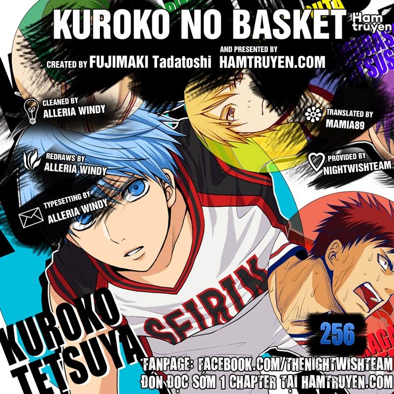 Kuroko No Basket chap 256 trang 2