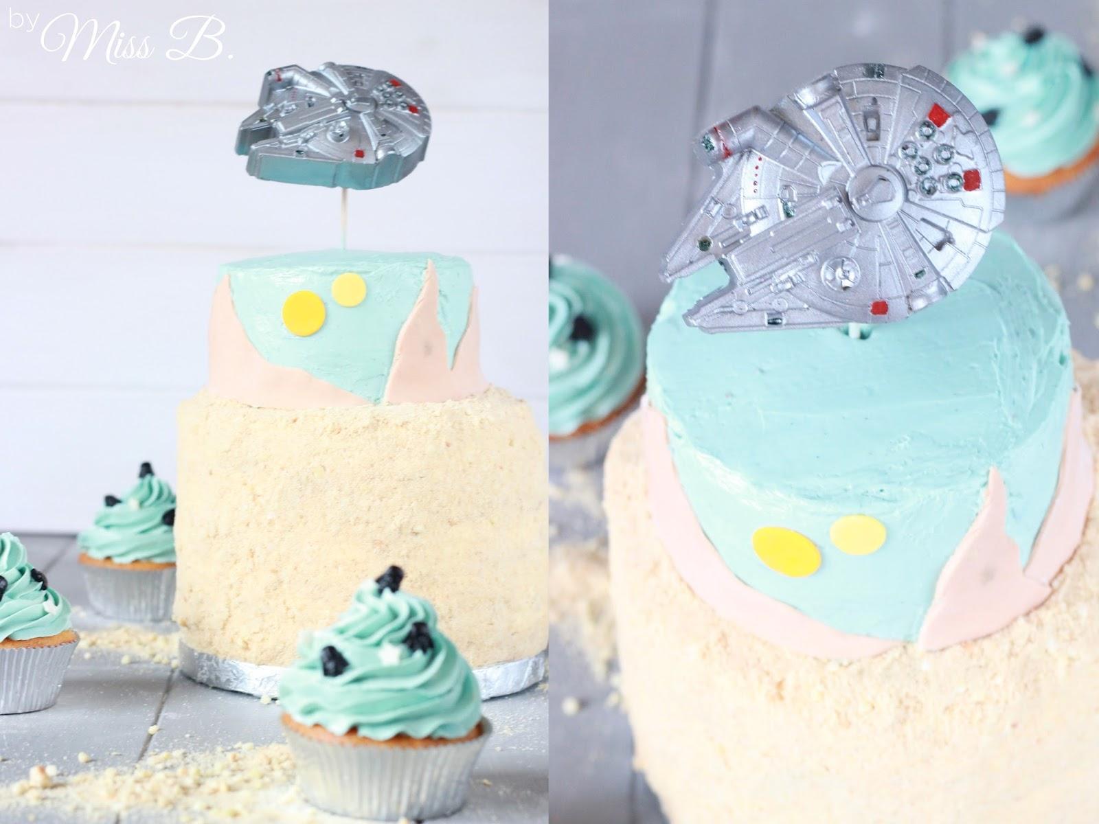 Miss Blueberrymuffin S Kitchen Star Wars Geburtstagstorte Rasender