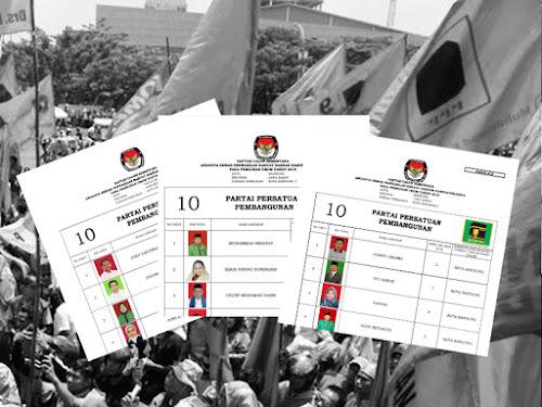 Daftar Calon Sementara Anggota DPRD Kota Bandung Pemilu 2019 dari PPP