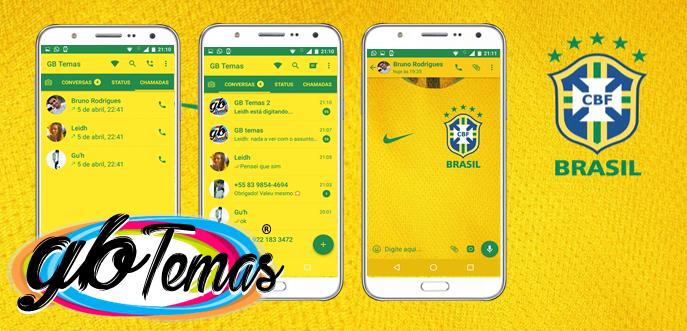 Tema GBWhatsapp - Seleção Brasileira