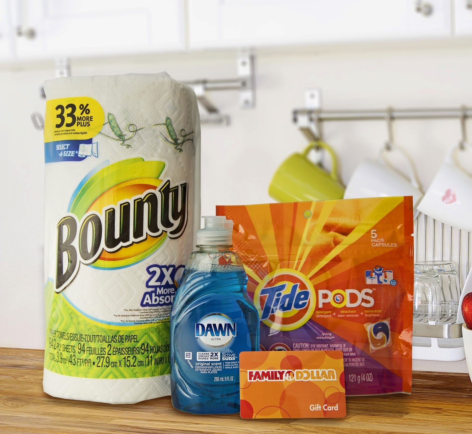 """""""Gather 'Em Up For Game Day"""" with P & G Products and Pepsi from Family Dollar PLUS a Giveaway!"""
