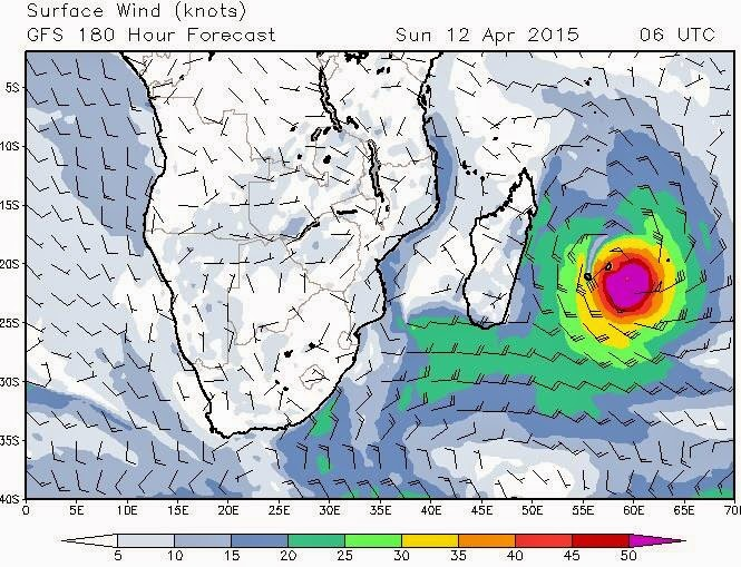 South West Indian Ocean Tropical Cyclone JOALANE To Form
