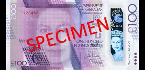Gibraltar new £100
