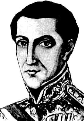 Rostro del ex presidente Agustín Gamarra