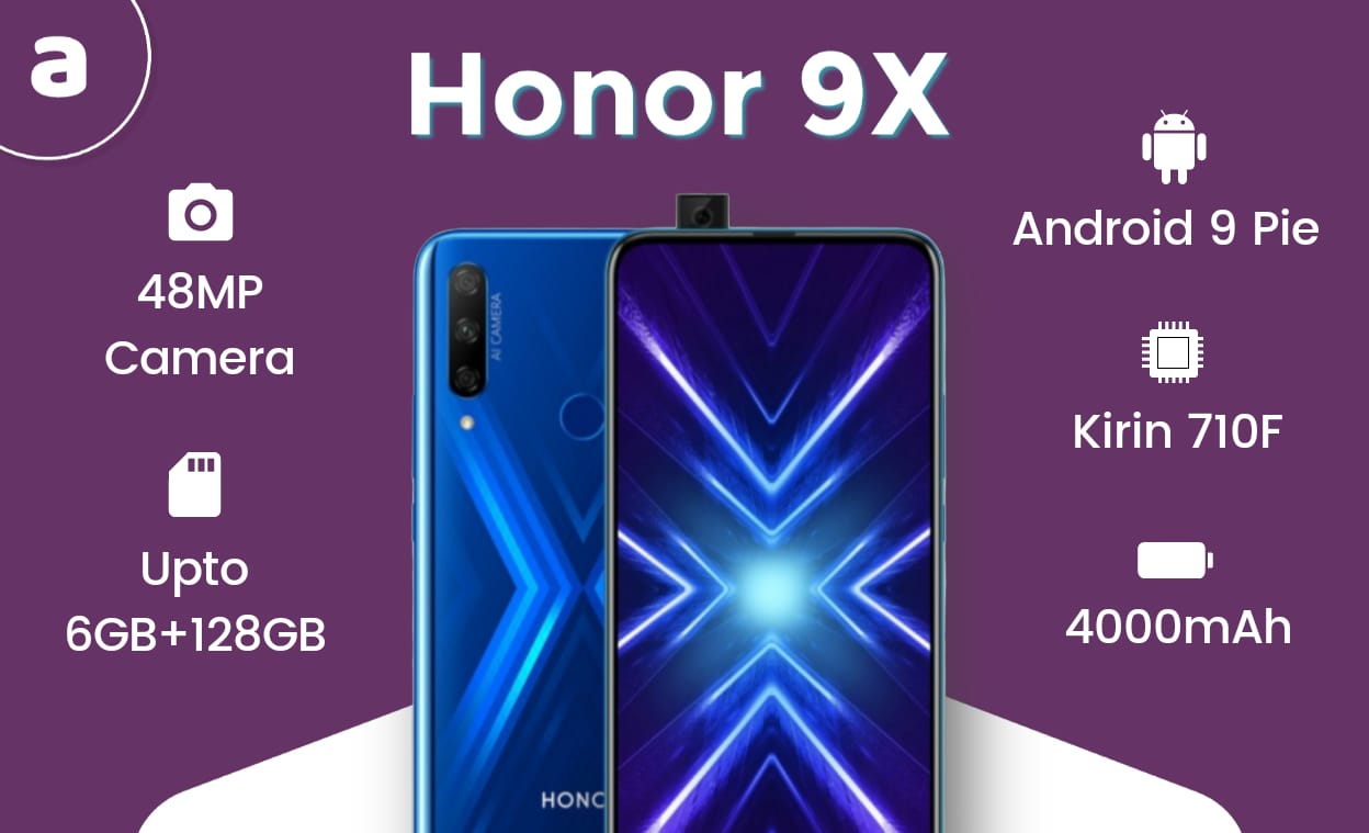 Honor 9X Features