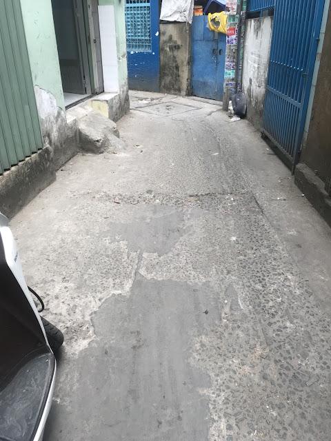 Bán nhà hẻm Chu Văn An phường 12 quận Bình Thạnh, giá 1 tỷ 330