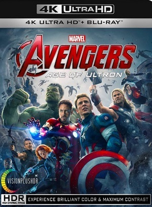 Filme Vingadores - Era de Ultron 4K 2015 Torrent