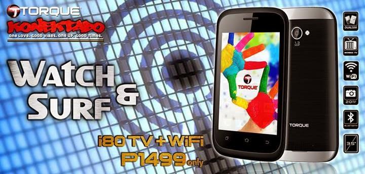 Torque i80 TV+WiFi