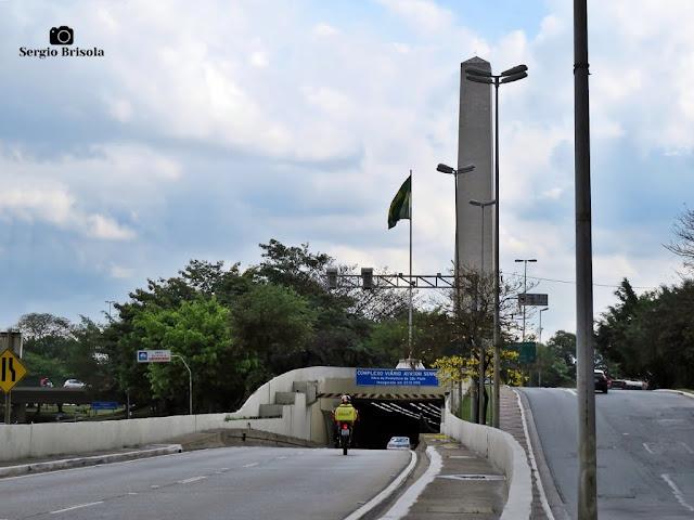 Vista da Entrada do Túnel Ayrton Senna - Vila Mariana - São Paulo