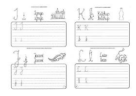 Caligrafia para imprimir e caderno de caligrafia - Atividade Caligrafia - 10
