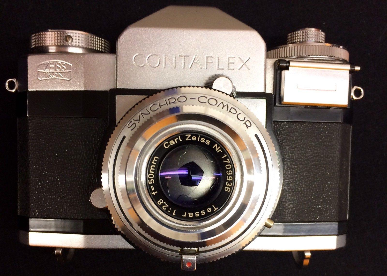 Dirt Cheap Vintage Lens: Zeiss Ikon Contaflex III (1956
