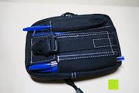 Tasche mit Stifte: Taktische Hüfttaschen , Sahara Sailor EDC Molle Tasche Nylon Gürteltasche für Wandern, Outdoor-Camping und Radfahren mit Aluminiumkarabiner