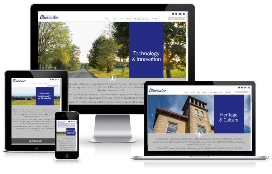 Bluewater - PSD to Responsive HTML5