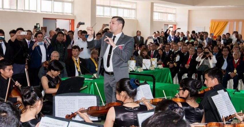 Gobierno Regional de Lima creará orquesta sinfónica