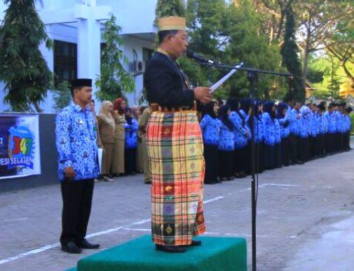 SKPD Pemkab.Kep.Selayar , Dihimbau, Pada 19 Oktober Gunakan Pakaian Adat
