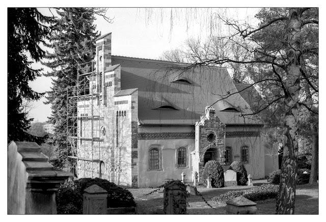 Kapelle auf dem Friedhof Zeitz