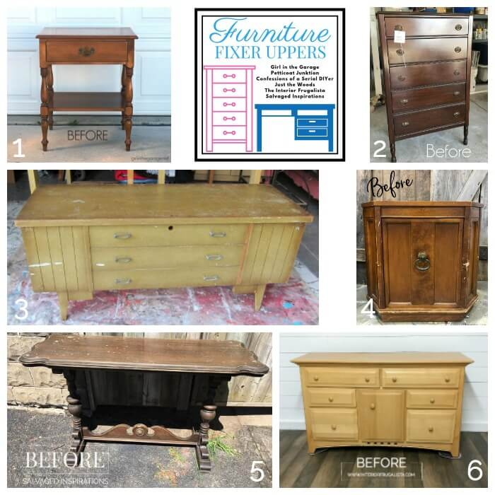 Furniture Fixer Uppers Before May 2019