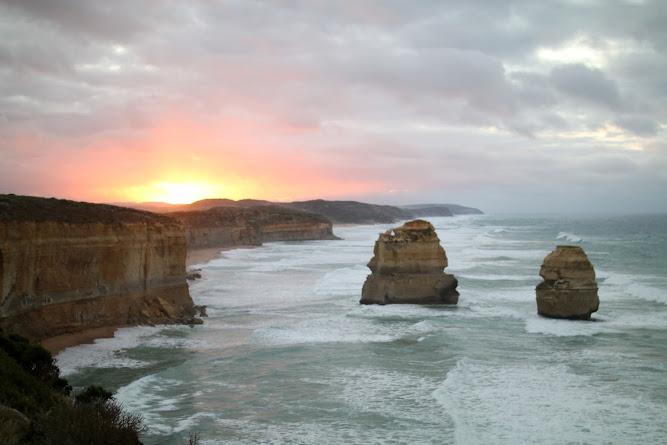 Gibson Steps Magog and Gog Rocks Victoria Australia