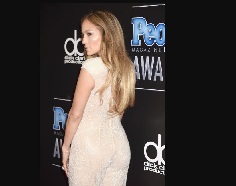 jlo people award dress
