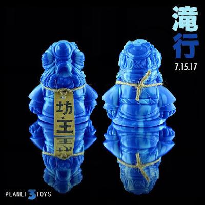 Bōzu Takigyo Edition Vinyl Figure by Planet 3 Toys x  Lulubell Toys
