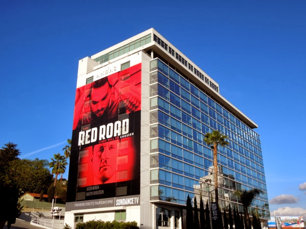 Giant Red Road season 1 billboard Sunset Strip