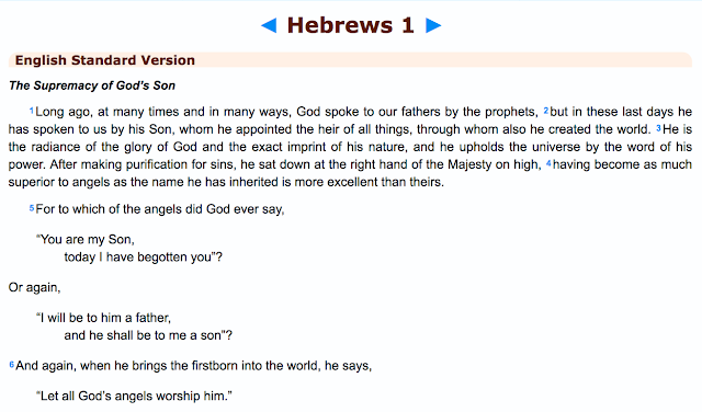 Hebrews 1: