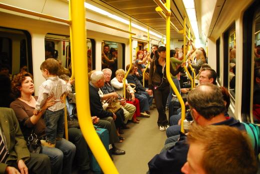 Metrovalencia modifica sus horarios con motivo de la Navidad