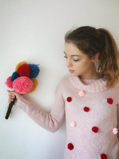 Pom - Pom Sweater
