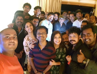 Keerthy Suresh with Sarkar Team in Success Meet 1