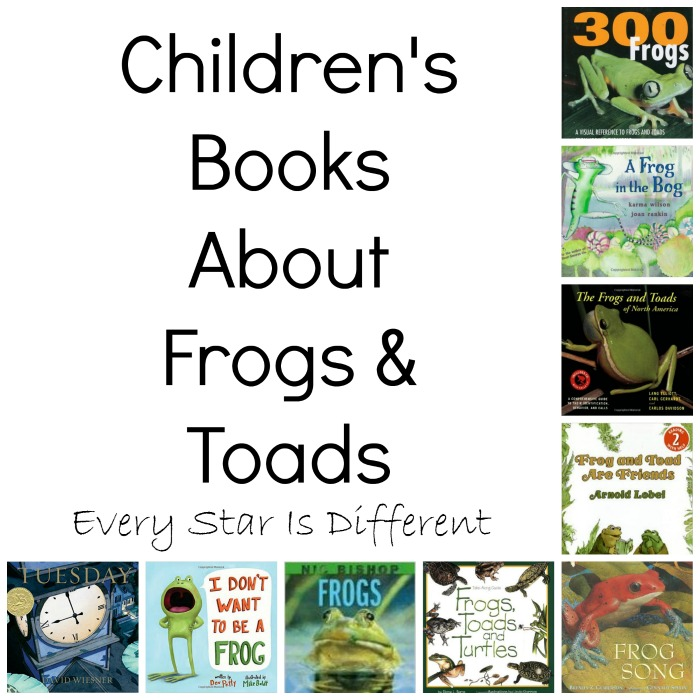 Children's Books About Frogs and Toads