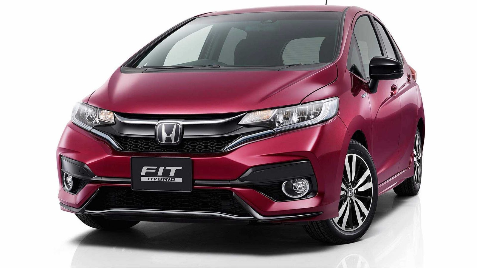2018 honda fit jazz reveals itself on japanese website carscoops. Black Bedroom Furniture Sets. Home Design Ideas