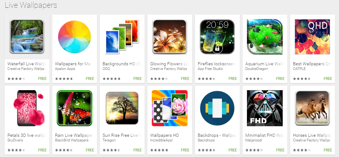 Top 27 Android Live Wallpaper Apps Collection Youth Apps