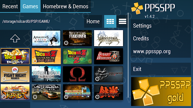 Download PPSSPP Gold Emulator for Android GamePlay