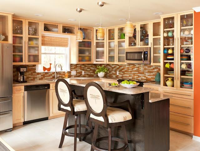 Tủ bếp đẹp và tiện dụng - Mẫu số 2