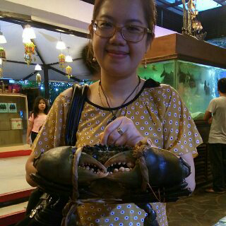 Kepiting jumbo di bandar djakarta