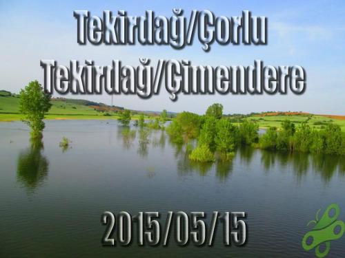 2015/05/15 Buralarda geziyorum bisiklet turu (BGBT) 1. Gün (Tekirdağ/Çorlu - Tekirdağ/ Çimendere)