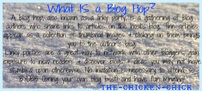 Description of a Blog Hop Linky Party at The Chicken Chick®