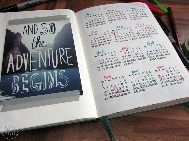 My General Life - Starting a Bullet Journal - Lifestyle