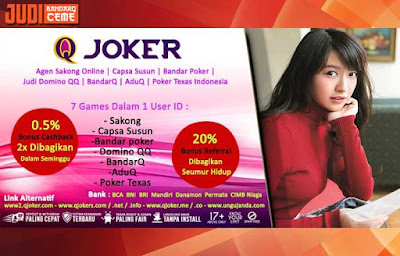 Bonus Cashback 2x Judi Poker Di Situs QJoker.net