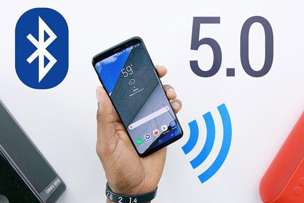 Smartphone dengan Bluetooth 5.0