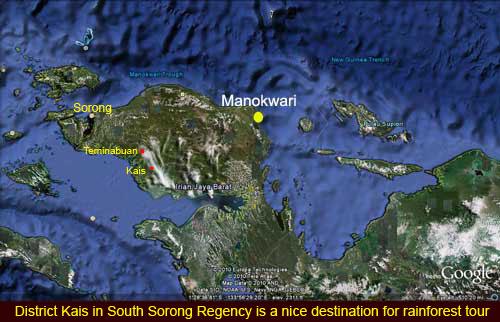 Charles Roring trip to Sorong Selatan