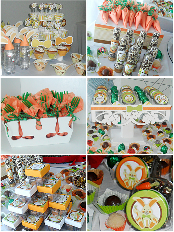 A Super Sweet Easter Birthday Party - via BirdsParty.com