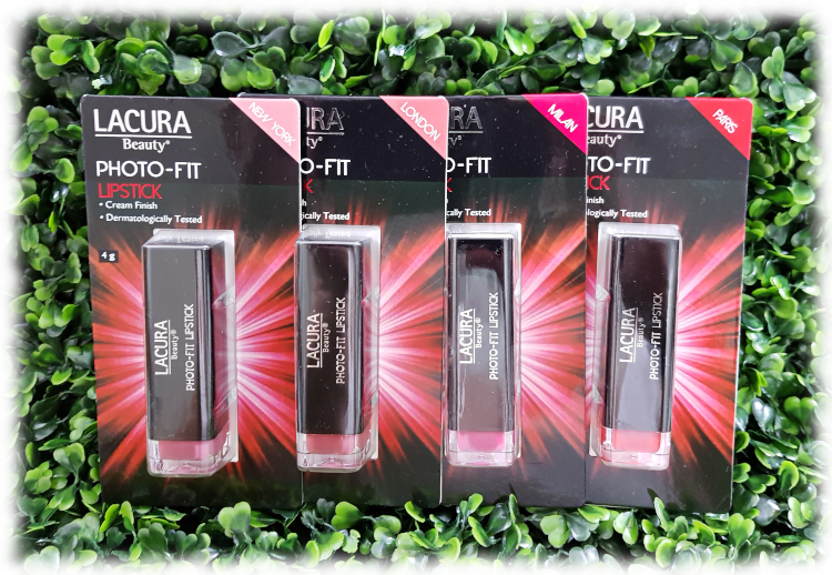 Lacura Photo-Fit Lipstick Packaging