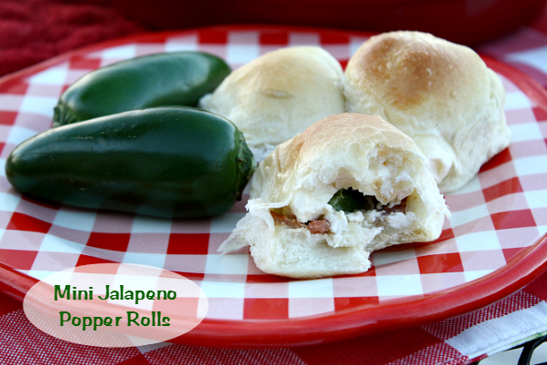 Mini Jalapeno Popper Rolls