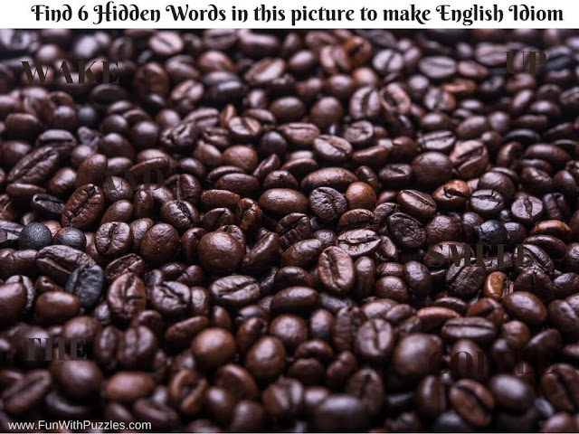 Image Puzzle to find hidden words
