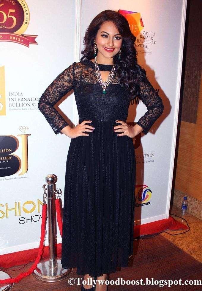 Marathi Girl Sonakshi Sinha Photos In Black Dress