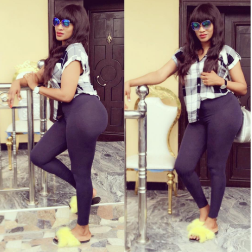 ???Oge Okoye defends herself after she got blasted by fans for wearing butt pad
