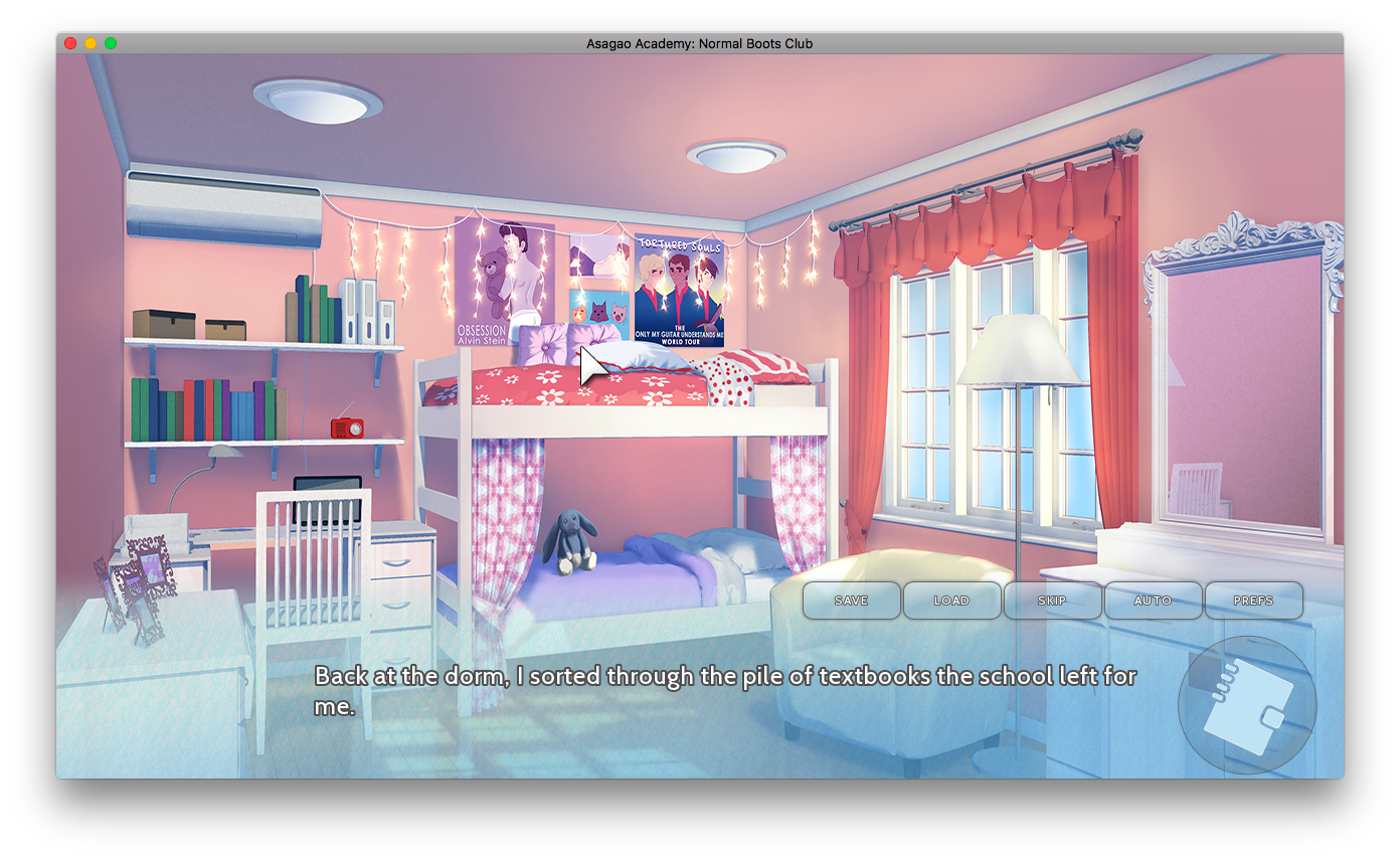 visual novel review otomehaven otometwist asagao academy